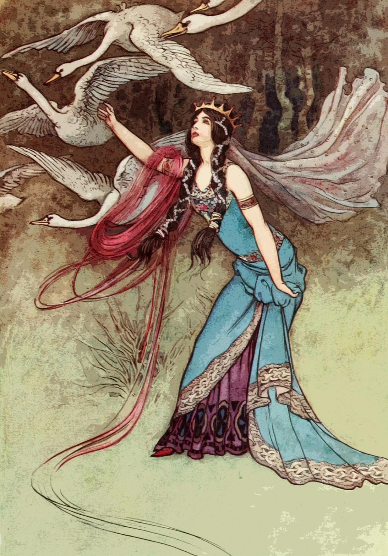 2 Craik, Dinah Maria Mulock. The Fairy Book. Warwick Goble, illustrator. London Macmillan _ Co. 1913