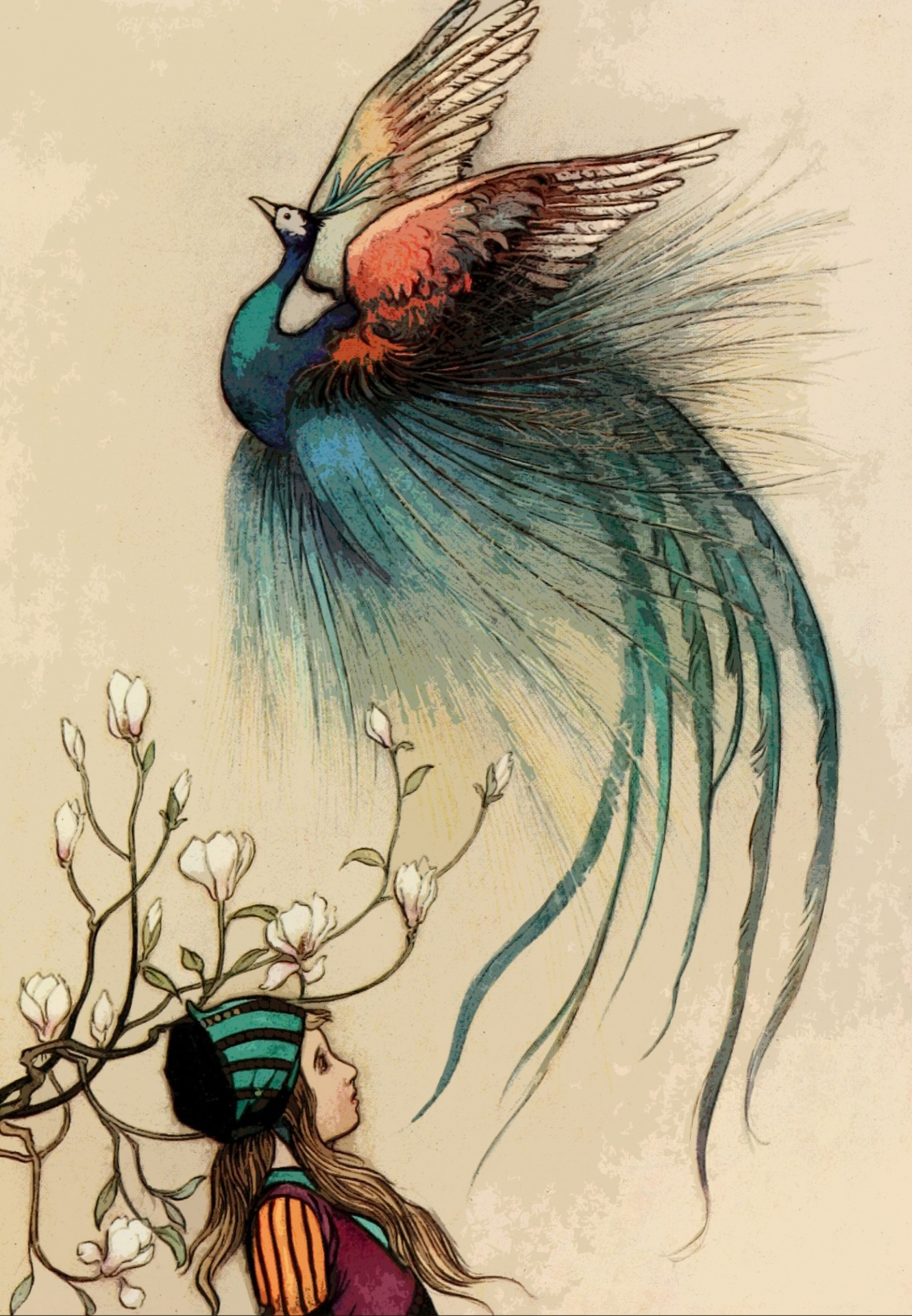 5 Warwick Goble - The Fairy Book by Dinah Maria Craik (The Juniper Tree
