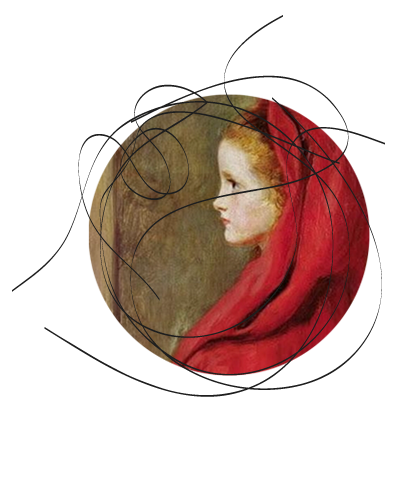 John Everett Millais - Cappuccetto rosso